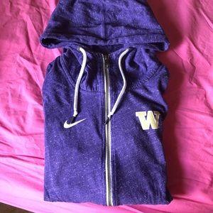University of Washington Nike zip up